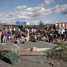 Ispanijos Katalonijos regione – nauji protestai