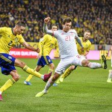 Ispanijos futbolininkai užsitikrino kelialapį į Europos čempionatą