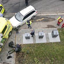 Oslo policija sulaikė greitosios pagalbos automobilį pagrobusio vyro bendrininkę