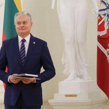 G. Nausėda neslepia jaudulio prieš susitikimą su popiežiumi