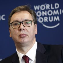 A. Vučičius: Serbija nedalyvaus bendruose ginklų gamybos projektuose su Rusija