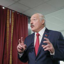A. Lukašenka: Baltarusija uždaro sieną su Vakarais – pirmiausia su Lietuva ir Lenkija
