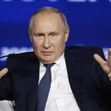 V. Putinas žada patobulinti rugpjūtį sprogusią raketą