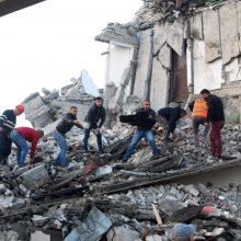 ES nuo žemės drebėjimo nukentėjusiai Albanijai skirs 100 mln. eurų