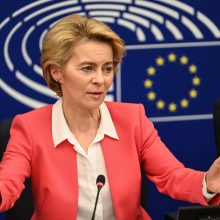 Būsimoji EK pirmininkė U. von der Leyen: ES nepakeis NATO