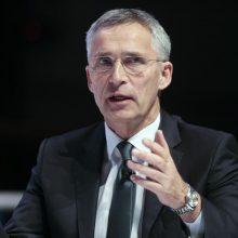 J. Stoltenbergas: Maskva negali trukdyti NATO plėtrai