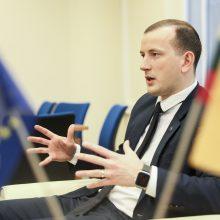 V. Sinkevičius apie ES paramą: Lietuvai reikės padėti įmonėms didinti eksportą