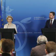 EK pirmininkė U. von der Leyen davė priesaiką Europos Teisingumo Teisme