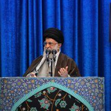 Irano aukščiausiasis lyderis kritikuoja JAV, stringant branduolinėms deryboms