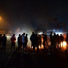 Per protestus Bagdade žuvo trys žmonės