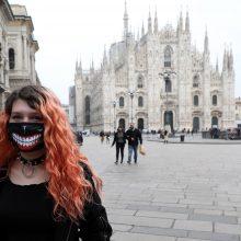 Nepaisant koronaviruso, lankytojams bus atidaroma Milano katedra