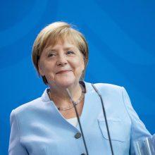 A. Merkel nusivylusi susitarimų dėl Rytų Ukrainos įgyvendinimu