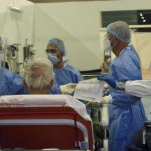 Italijoje patvirtinti 14 242 nauji COVID-19 atvejai ir 616 mirčių