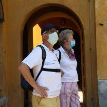 Italijoje per parą koronaviruso aukomis tapo 156 žmonės