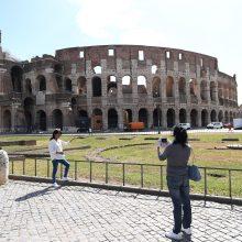 Nuo birželio 1 d. lankytojams vėl bus atvertas Romos Koliziejus
