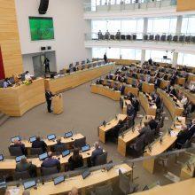 Seimas nepritarė laikinai sumažinti GPM, tačiau palaikė NPD didinimą