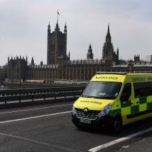 Didžiojoje Britanijoje per parą patvirtinta 6 914 naujų COVID-19 atvejų