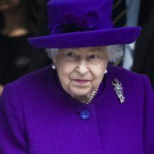 JK karalienė Elžbieta II atšaukė visus šiemet turėjusius vykti didelius renginius