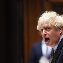 B. Johnsonas po ES viršūnių susitikimo spręs, ar tęsti derybas dėl prekybos sutarties