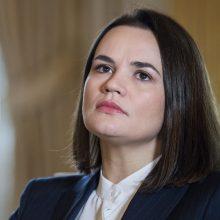 Baltarusijoje iškelta baudžiamoji byla S. Cichanouskajai ir grupės BYPOL nariams