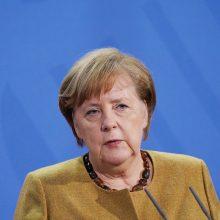 """A. Merkel: Ukraina liks dujų tranzito šalimi, net kai bus baigtas """"Nord Stream 2"""""""