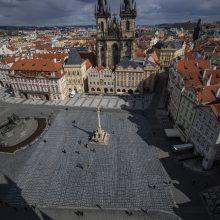 Čekijos vyriausybė prašys parlamentą patvirtinti nepaprastąją padėtį iki balandžio 27-osios
