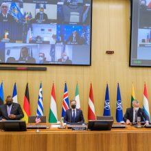 G. Landsbergis: Lietuva ragina NATO ir tarptautinę bendruomenę remti Ukrainą