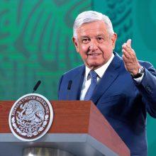 Prezidentas: Meksika planuoja spalio mėnesį baigti vakcinacijos kampaniją