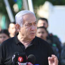 B. Netanyahu: operacija prieš palestiniečių radikalus Gazos Ruože vyks tiek, kiek reikės