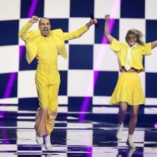 """""""Eurovizija"""": atskleista, kurioje finalo dalyje pasirodys """"The Roop"""""""