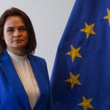 S. Cichanouskaja sveikina Vakarų sprendimą įvesti bendras sankcijas A. Lukašenkos režimui