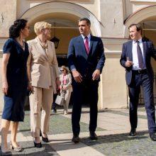 I. Šimonytė: Lietuvą ir Ispaniją sieja bendra atsakomybė kuriant saugią ir stiprią Europą