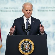 Liepos pabaigoje J. Bidenas Vašingtone susitiks su Irako premjeru