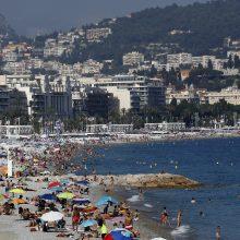 Prancūzijos pajūrio miestą Nicą UNESCO įtraukė į kultūros paveldo sąrašą