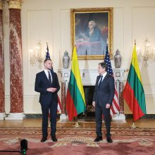 G. Landsbergis: su JAV sekretoriumi A. Blinkenu aptarta galima pagalba Lietuvai