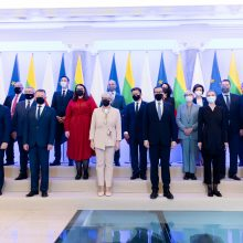 Premjerė: pasiryžę ir toliau stiprinti dinamišką Lietuvos ir Lenkijos strateginę partnerystę
