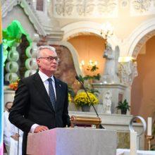 Prezidentas Čikagoje lietuvių bendruomenės nariams dėkojo už puoselėjamą lietuvybę