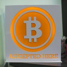 Bitkoino kaina sumušė dar vieną rekordą