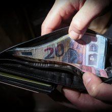 Iš karantino metu skirtų paramos lėšų nebus išieškomos skolos