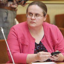 KT imasi bylos dėl A. Širinskienės vadovautos komisijos sudarymo