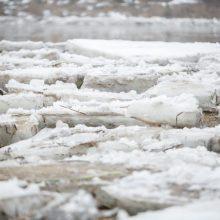 Latvijoje buvo sprogdinama ledo sangrūda