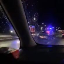 Palangoje reikalavimo sustoti nepaisęs vairuotojas kelionę baigė liūdnai