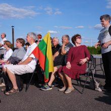 Baltijos kelio prisiminimai iš padangių