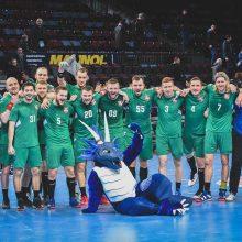 Lietuvos rankinio rinktinė laukia varžovų pasaulio čempionato atrankoje