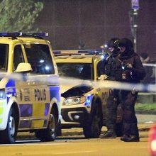 Trys švedų policininkai apkaltinti dėl žaislinį ginklą turėjusio vyro nužudymo
