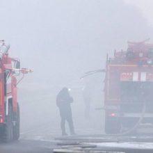Krasnojarsko krašte per naujus sprogimus degusiame arsenale sužeisti 9 žmonės