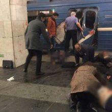 Dėl teroro akto Sankt Peterburge kaltinimai pateikti šešiems asmenims