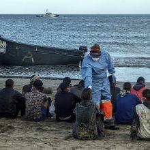 Ispanijos migrantų stovykloje kilus susirėmimams sulaikyti aštuoni žmonės