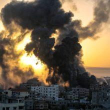 Vašingtonas: JAV nepritars Prancūzijos JT rezoliucijos projektui dėl Artimųjų Rytų