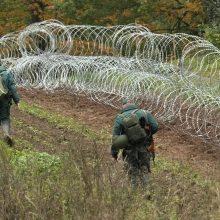 Latvija pratęsė prie sienos su Baltarusija galiojančią ekstremaliąją padėtį